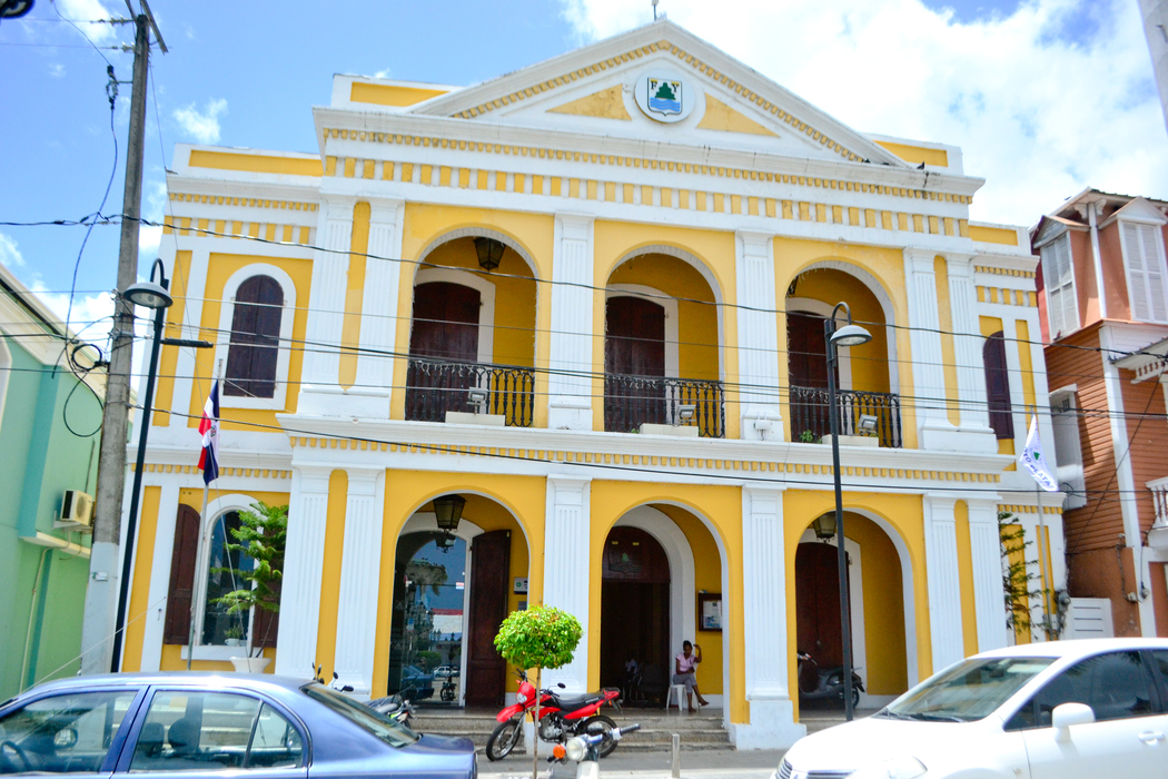 Puerto Plata City Hall at the Central Park